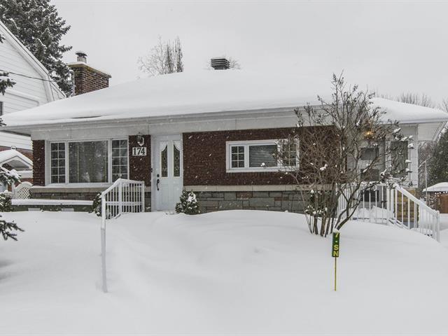 Maison de plain-pied,  174  52e Avenue,   Lachine (Montréal),  H8T 2W9