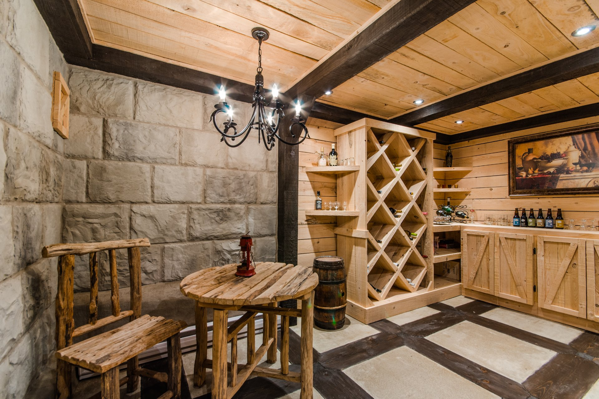 Cave/ chambre froide