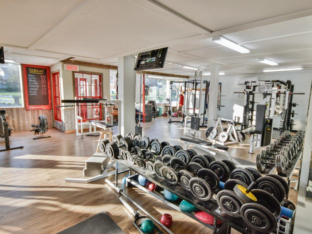 Salle d'exercice